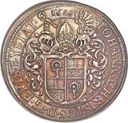 1 Thaler - Johann Christoph von Westerstetten – obverse
