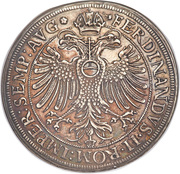 1 Thaler - Johann Christoph von Westerstetten – reverse