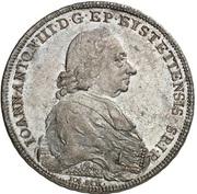 1 Thaler - Johann Anton III. von Zehmen – obverse