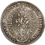 1 Thaler -  Johann Conrad von Gemmingen – reverse