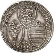 1 Thaler -  Johann Conrad von Gemmingen – obverse