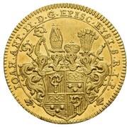 1 Ducat - Johann Anton II von Freyberg – obverse