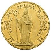 1 Ducat - Johann Anton II. von Freyberg – reverse