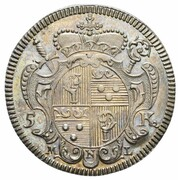 5 Kreuzer  - Johann Anton II. von Freyberg – obverse