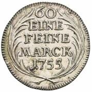 20 Kreuzer  - Johann Anton II. von Freyberg – reverse