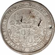 1 Thaler - Johann Eucharius Schenk von Castell – obverse