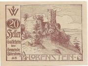 20 Heller (Eidenberg) – obverse