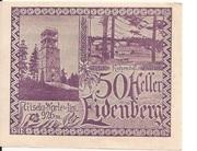 50 Heller (Eidenberg) -  obverse