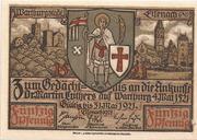 50 Pfennig (Luther Jubilee Series) – obverse