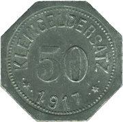 50 Pfennig - Eisleben (Mansfeldsche Gewerkschaft) -  obverse