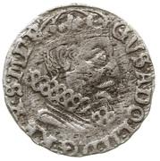 Trojak / 3 Grosze - Gustaw II Adolf (Swedish Occupation) – obverse