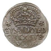 Grosz - Gustaw II Adolf (Elbląg mint) – obverse
