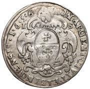 Ort - Karol X Gustaw (Swedish Occupation) – reverse