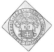 1/4 Talar - Karol X Gustaw (Swedish Occupation) – reverse