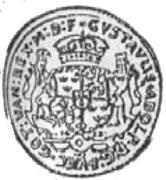 Półtalar - Gustaw II Adolf (Swedish Occupation) – obverse