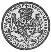 Talar - Gustaw II Adolf (Swedish Occupation) – obverse
