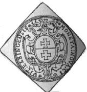 1.5 Talar - Gustaw II Adolf (Swedish Occupation) – reverse