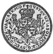 2 Talar - Gustaw II Adolf (Swedish Occupation) – obverse