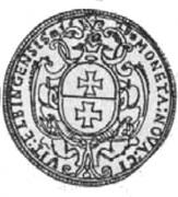 2 Talar - Gustaw II Adolf (Swedish Occupation) – reverse