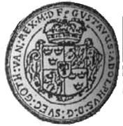 3 Talar - Gustaw II Adolf (Swedish Occupation) – obverse