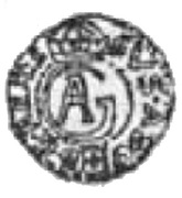 Półdukat - Gustaw II Adolf (Swedish Occupation) – obverse