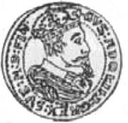 3 Dukat - Gustaw II Adolf (Swedish Occupation) – obverse