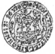 3 Dukat - Gustaw II Adolf (Swedish Occupation) – reverse