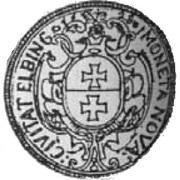4 Dukat - Gustaw II Adolf (Swedish Occupation) – reverse