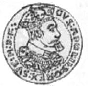 5 Dukat - Gustaw II Adolf (Swedish Occupation) – obverse