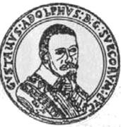 Portugał / 10 Dukat - Gustaw II Adolf (Swedish Occupation) – obverse