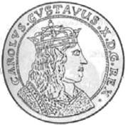 10 Dukat - Karol X Gustaw (Swedish Occupation) – obverse