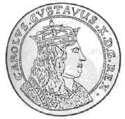 Talar - Karol X Gustaw (Swedish Occupation) – obverse