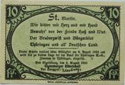 10 Pfennig (Ritterschaft) – obverse