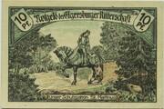 10 Pfennig (Ritterschaft) – reverse