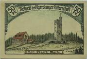 50 Pfennig (Ritterschaft) – reverse