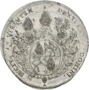 1 Thaler - Heinrich Christoph von Wolfframsdorf – reverse