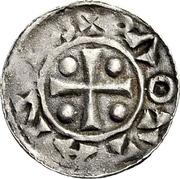 1 Denar - Adela (Hamaland) – reverse