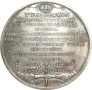 Medal - The Forty Commission (Emden) – reverse