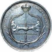Medal - The Twenty-four Commission (Emden) -  obverse