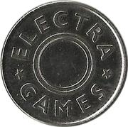Amusement token - Electra Games – reverse