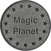 Amusement Token - Magic Planet – reverse
