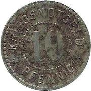 10 Pfennig - Emmendingen – reverse