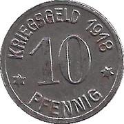 10 Pfennig - Emmerich -  obverse