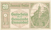 20 Heller (Emmersdorf) – obverse