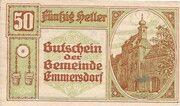 50 Heller (Emmersdorf) -  obverse
