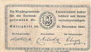 50 Heller (Emmersdorf) -  reverse