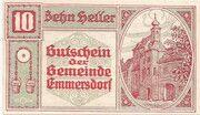 10 Heller (Emmersdorf) -  obverse