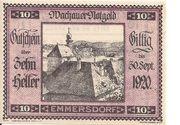 10 Heller (Wachau - Emmersdorf) -  obverse