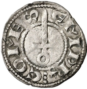 Dinero - Ponce Hugo IV – obverse