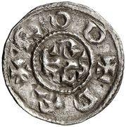 Dinero - Charlemagne (Roses) – obverse